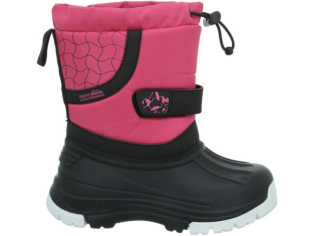 High Colorado Snowy II Zapatillas Niños, pink-black